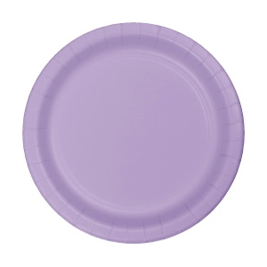 LILAC 7 INCH PAPER PLATES - 25 COUNT  sc 1 st  50-50 Factory Outlet & LILAC 7 INCH PAPER PLATES - 25 COUNT|Party Supplies 50-50 Factory ...