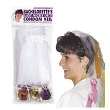 BACHELORETTE PARTY CONDOM VEIL Thumbnail