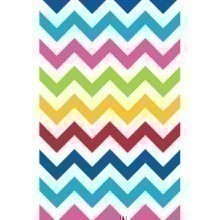 BRIGHT CHEVRON PAPER TABLECOVER  Thumbnail