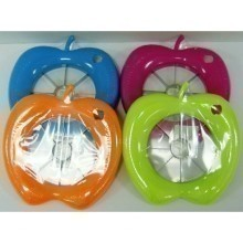 APPLE SHAPED SLICER- ASSORTED COLORS Thumbnail