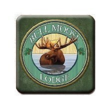 BULL MOOSE LODGE COASTERS Thumbnail