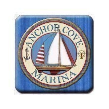 ANCHOR COVE MARINA COASTERS Thumbnail