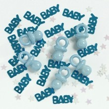 .5oz BLUE BABY PACIFIERS CONFETTI PLUS Thumbnail