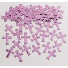 .5oz PINK CROSSES CONFETTI Thumbnail
