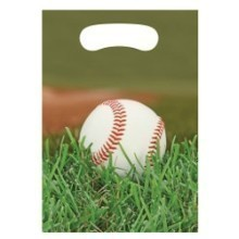 SPORTS FANATIC BASEBALL LOOT BAGS-8 COUNT Thumbnail