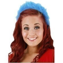 THING 1 & 2 FUZZY HEADBAND Thumbnail