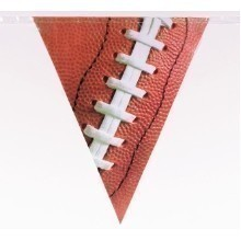 12' FOOTBALL PENNANT BANNER  Thumbnail