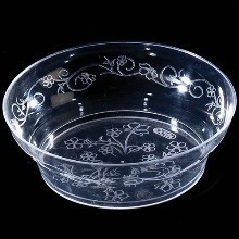 10 OZ CLEAR SCROLL BOWL-20CT Thumbnail