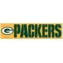 GREEN BAY PACKERS BUMPER STRIP Thumbnail