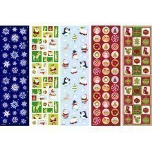 CHRISTMAS BIG PACK OF STICKERS - 350 COUNT Thumbnail