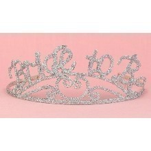 BRIDE TO BE / BACHELORETTE CROWN / TIARA Thumbnail
