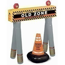 INFLATABLE AGE BARRICADE & CONE Thumbnail