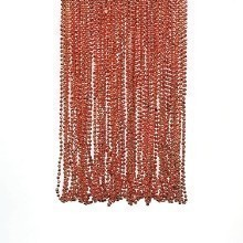 ORANGE METALLIC BEAD NECKLACES Thumbnail