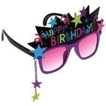 BIRTHDAY CHIC FUN SHADES Thumbnail