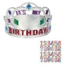 HERE'S TO YOU ADD-AN-AGE PLASTIC TIARA Thumbnail