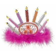 BIRTHDAY CANDLE LIGHT-UP TIARA Thumbnail