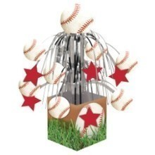 SPORTS FANATIC BASEBALL MINI FOIL CENTERPIECE Thumbnail