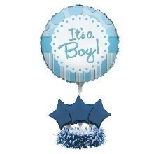 ITS A BOY BALLOON CENTERPIECE KIT  Thumbnail