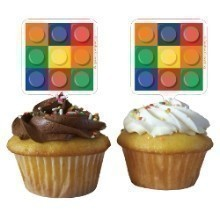 BLOCK PARTY CUPCAKE TOPPERS Thumbnail