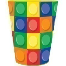 BLOCK PARTY 16OZ PLASTIC CUP Thumbnail