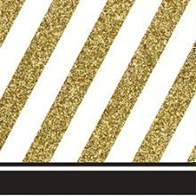 BLACK & GOLD BEVERAGE NAPKINS Thumbnail