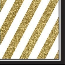 BLACK & GOLD LUNCH NAPKINS Thumbnail