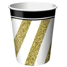 BLACK & GOLD 9OZ CUPS Thumbnail