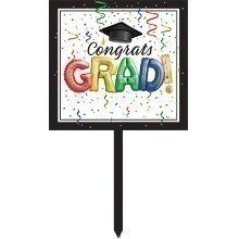 #1 GRAD YARD SIGN Thumbnail