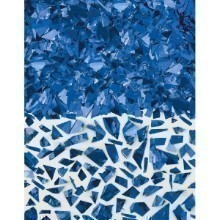 1.5OZ SPARKLE FOIL CONFETTI SHRED - BLUE Thumbnail