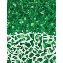 1.5OZ SPARKLE FOIL CONFETTI SHRED - GREEN Thumbnail