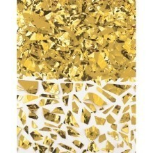 1.5OZ SPARKLE FOIL CONFETTI SHRED - GOLD Thumbnail