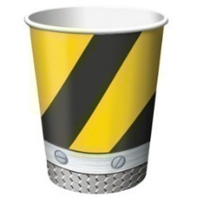 CONSTRUCTION ZONE 9 OZ CUPS-8 COUNT Thumbnail