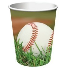 SPORTS FANATIC BASEBALL 9 OZ CUPS-8 COUNT Thumbnail