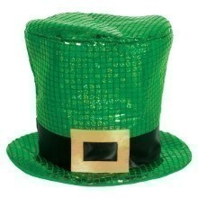 ST. PATRICK'S DAY SEQUIN OVERSIZED TOP HAT Thumbnail