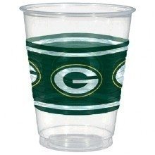 Green Bay Packers 16oz Cups - 25 Count Thumbnail