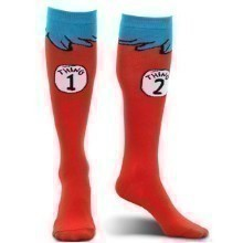 THING 1 & 2 COSTUME SOCKS Thumbnail
