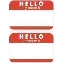 HELLO MY NAME IS . . . NAME TAG - 100 CT Thumbnail