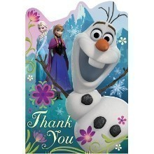 Disney's Frozen Thank You Notes - 8 Count Thumbnail