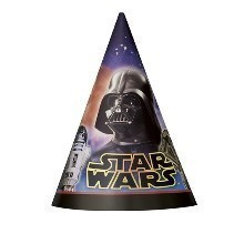 Star Wars Cone Party Hats - 8 Count Thumbnail