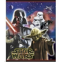 Star Wars Loot Party Favor Bags - 8 Count Thumbnail