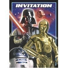 Star Wars Party Invitations - 8 Count Thumbnail