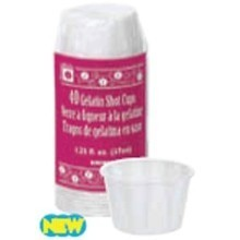 1.25oz PAPER GELATIN SHOT CUPS - 40 COUNT Thumbnail