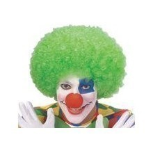 CLOWN WIG-NEON GREEN Thumbnail