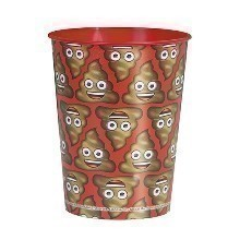EMOJI 16OZ POOP PARTY CUP Thumbnail