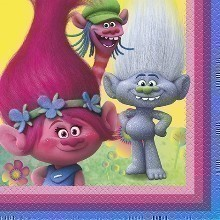 TROLLS LUNCH NAPKINS - 16 COUNT Thumbnail