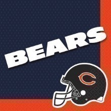 CHICAGO BEARS LUNCH NAPKINS - 16 COUNT  Thumbnail