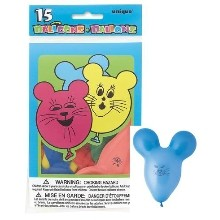 15CT MOUSE BALLOONS Thumbnail