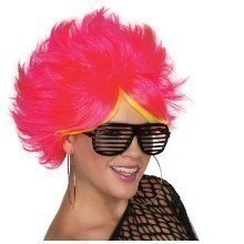 80'S POP WIG-PINK Thumbnail