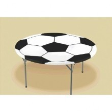 SOCCER ROUND TABLECOVER WITH ELASTIC  Thumbnail