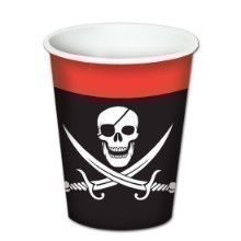 PIRATE 8OZ CUPS - 8 COUNT Thumbnail